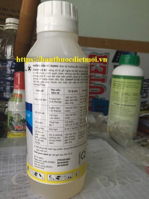 Thuốc diệt mọt - mối Cislin 2.5EC